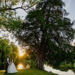 Ardington House 36sunset golden light portraits wedding photo ardington house 11