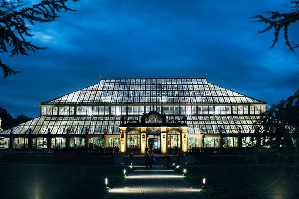 Kew Gardens Wedding Venue West London Kew at Night