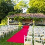Ashdown Park Hotel outside ceremony