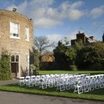 Kew Gardens Wedding Venue West London Outdoor Chairs