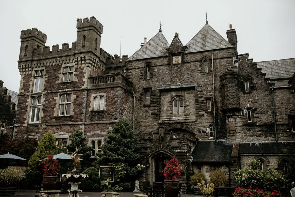 Craig Y Nos Castle View