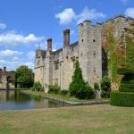 Hever Castle wedding venue kent castle and grounds