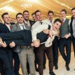 Tissington Hall WEDDING VENUE PEAK DISTRICT Groom