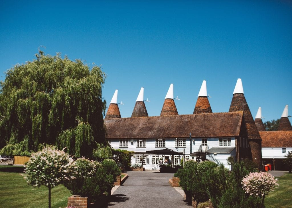 Hop Farm Wedding Venue Kent