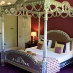 East Lodge Country House Hotel Bedroom