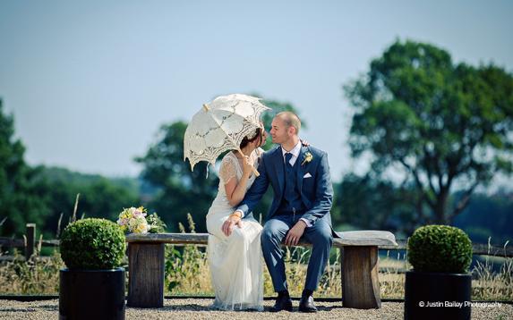 Outdoor Wedding Venue In Epping Essex: Gaynes Park Barns, Epping Wedding Venues
