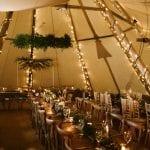 Hazlewood Castle Hotel Inside Tipi 30