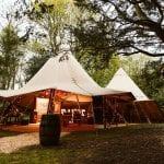 Hazlewood Castle Hotel Tipi Shot 31