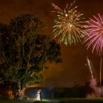 Hazlewood Castle Hotel fireworks 24