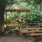 Hazlewood Castle Hotel pagoa woods 17