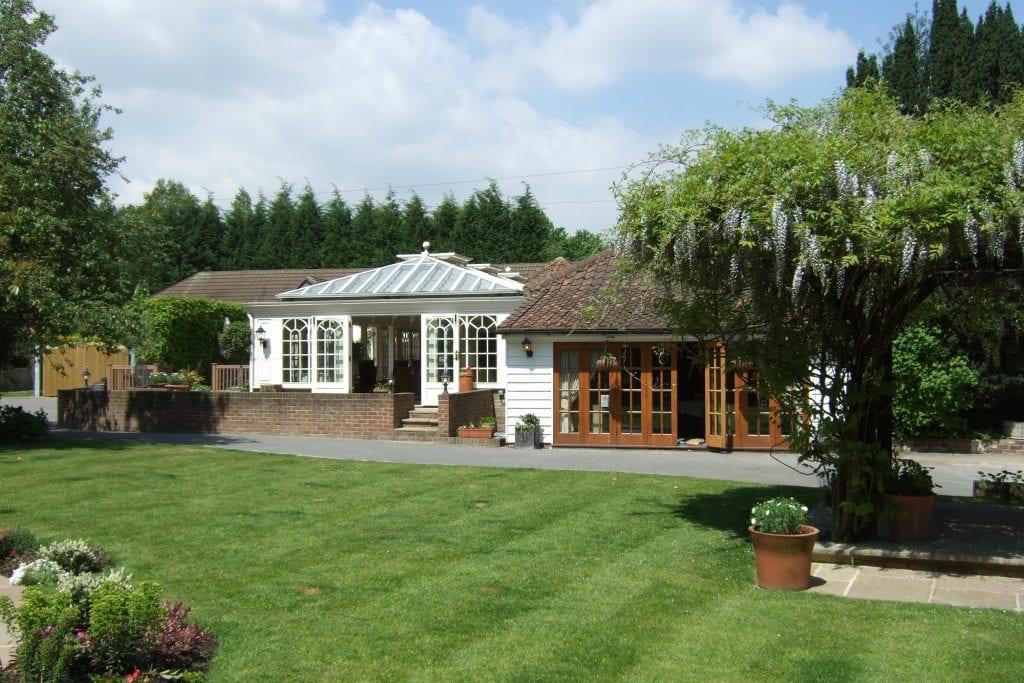 Unique Outdoor Wedding Venues in London Oaks Farm Front 6
