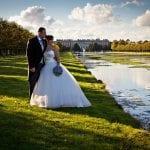Hampton Court Palace Golf Club Long Water Bride Groom 1024x683 5