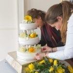 Weald of Kent Golf Course & Hotel wedding cake min 9