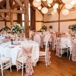 Cain Manor Pink Wedding Breakfast