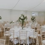 Fulham Palace Fulham Palace Marquee Wedding Breakfast 12