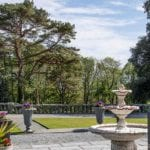 Bron Eifion Country House Hotel fountain