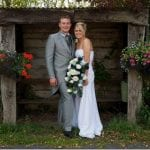 The Flying Fish Barn Bride & Groom Photo The Square and Compass Wedding Barn Ilminster 7