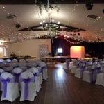 The Flying Fish Barn Dye wedding Aug 18