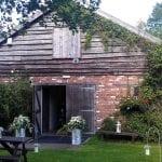 The Flying Fish Barn barn garden cropped 2