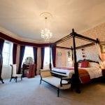 Burton Court Wedding Venue Herefordshire bedroom