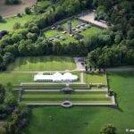 Osmaston Park aerial photograph of Osmaston Park Derbyshire 5