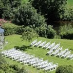 Bickleigh Castle Outside Ceremony