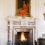 Minterne House Drawing Room fire 17