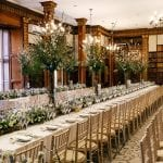 Clevedon Hall Library banquet 12