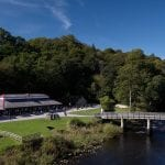 Cavendish Pavilion Cavendish Pavilion, Bolton Abbey, Drone Shot, JR (3) 1