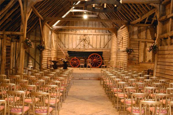 Preston Priory Barn Lavenham Wedding Venues