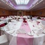 The Abbey Hotel Abbey wedding setup (9 of 45) 49