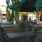 Beetle and Wedge Boathouse Outdoor Seating