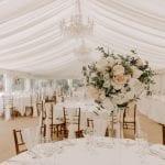 Seckford Hall Great Hall Marquee wedding 8