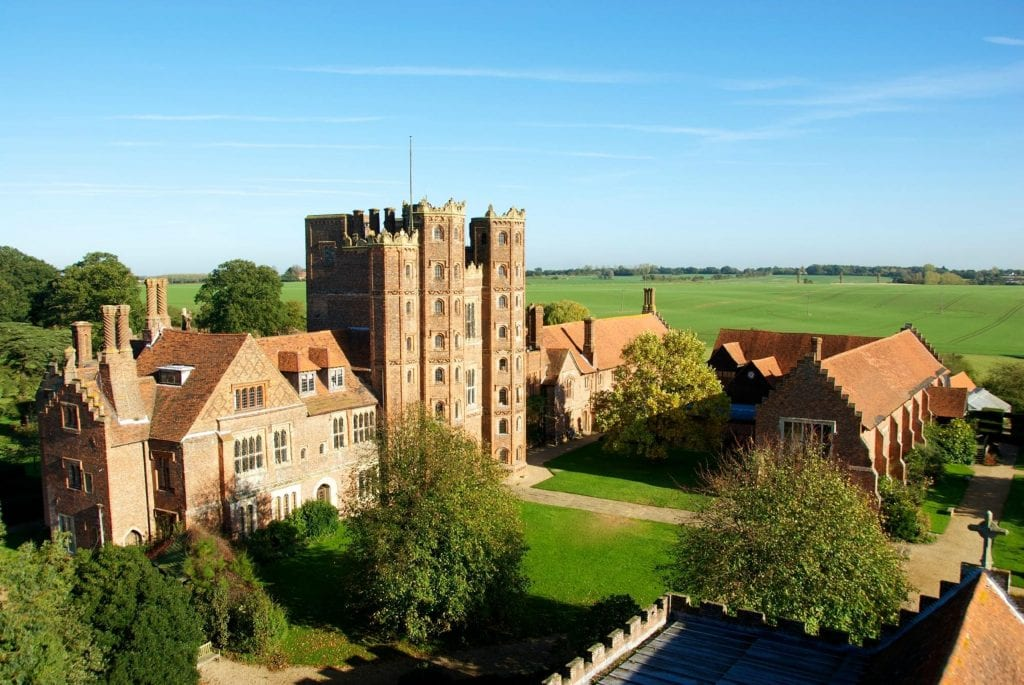 Layer Marney Tower Wedding Venue House and Grounds