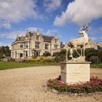 The Manor at Old Down Estate Stag Statue Old Down Manor 14