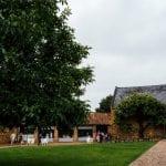 The Barns at Hunsbury Hill Wedding Venue Northampton driveway