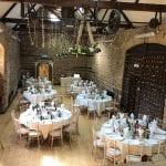 The Barns at Hunsbury Hill Wedding Venue Northampton wedding breakfast