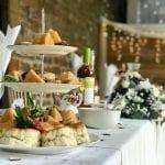The Barns at Hunsbury Hill Wedding Venue Northampton food table