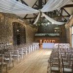 The Barns at Hunsbury Hill Wedding Venue Northampton ceremony