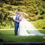 The Barns at Hunsbury Hill Wedding Venue Northampton wedding couple