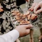Seckford Hall Wedding food 18