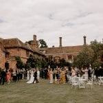 Seckford Hall Wedding reception 19