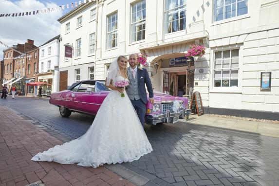 The George Hotel Lichfield Wedding Venues
