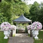 Pennyhill Park Floral Urns 2