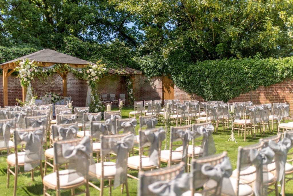 The Ultimate Guide to Planning an Outdoor Wedding Royal Berkshire Walled Garden Ceremony 4