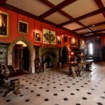Muncaster Castle interior Lake District