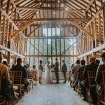 Blake Hall Inside hay barn 1
