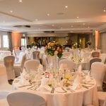 Ivy Hill Hotel Margaretting Suite wedding with an orange theme 5
