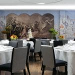The Soho Hotel SH Indigo Room Dining (round tables) 3