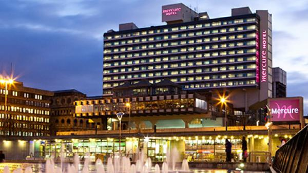 Mercure Manchester Piccadilly Hotel Manchester Wedding Venues